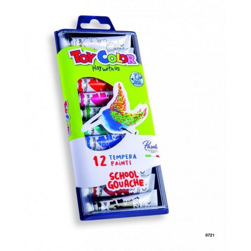 ToyColor tempera tubusos 12 db 7,5 ml. 0721