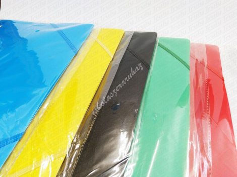 PVC A/4 gumis mappa