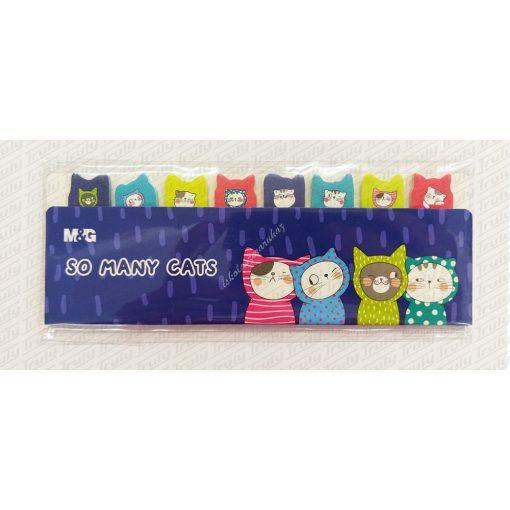 M&G jelölő címke Many Cats 8x20 lap AS26V873