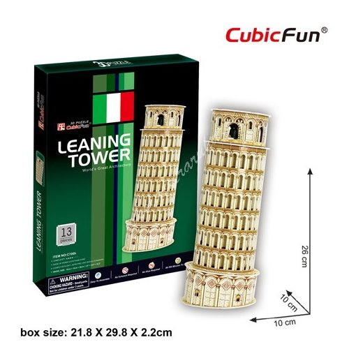 3D Puzzle - Leaning Tower (Olaszország) - Pisai ferde torony c706