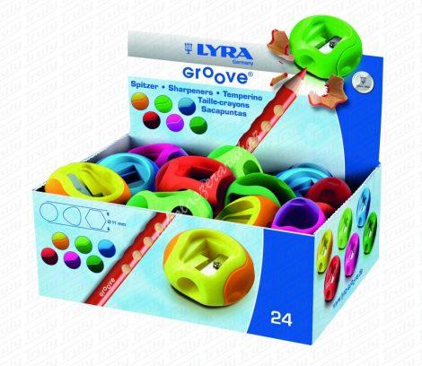 Lyra Groove egylyukú hegyező