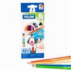 Milan háromszögletű színes ceruza 12-es készlet