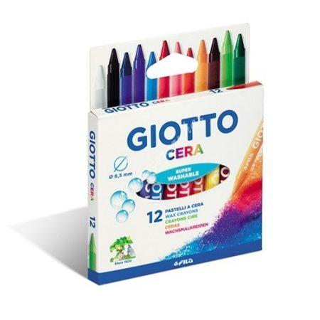 Zsírkréta 12 db-os Giotto Cera