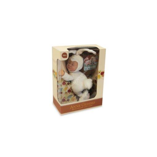 Anne Geddes baba fehér nyuszi
