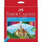 Faber-Castell színes ceruza 24 darabos vármintás