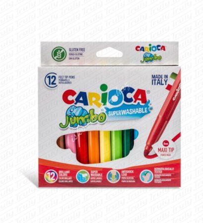 Carioca Jumbo 12-es filctoll készlet