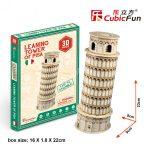 3D Puzzle - mini Pisai ferde torony s3008