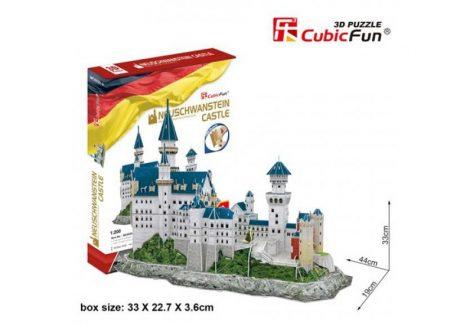 3D Puzzle - Neuschwanstein Castle mc062