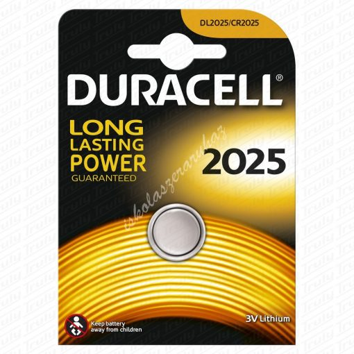 Duracell 2025 gombelem