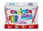 Carioca filc Birello kétvégű 24 darabos NEW