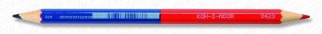 Koh-I-Noor 3423 postairon piros-kék színes ceruza