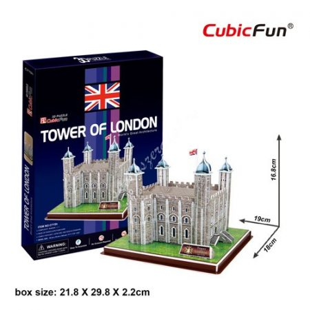 3D Puzzle - Tower of London (UK) c715
