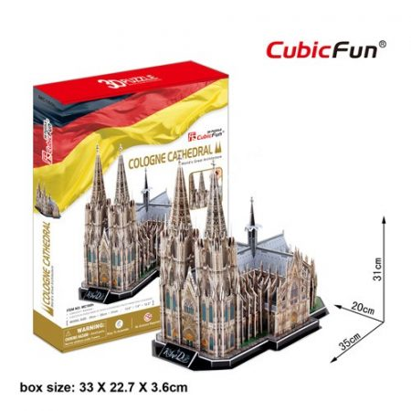 3D Puzzle - Cologne Cathedral (Németország) mc160