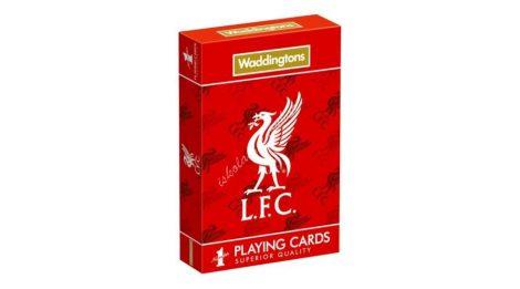 Liverpool focicsapat francia kártya - Waddingtons