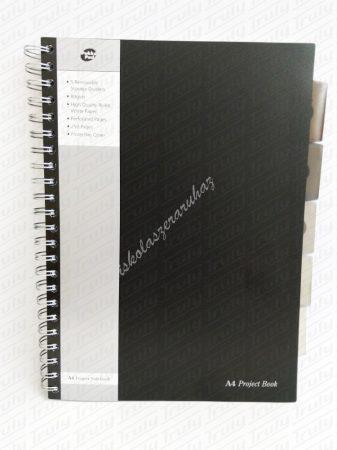Pukka Pad A/4 Project Book 125 lapos, vonalas füzet