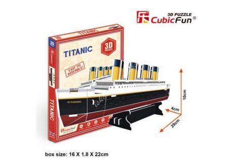 3D Puzzle - mini Titanic s3017