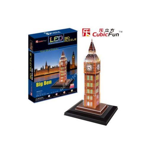 3D Puzzle LED világítással - Big Ben (UK) l501