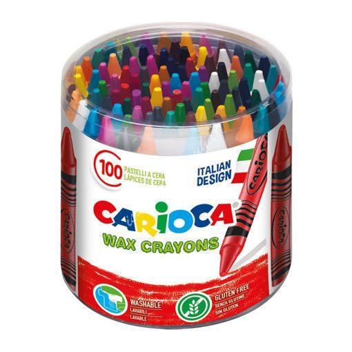 Carioca zsírkréta 100 darabos vékony 42399