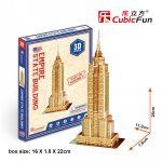 3D Puzzle - mini Empire State Building (USA) s3003