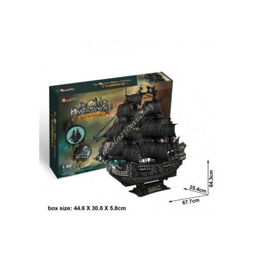 3D Puzzle - The Queen Anna hajó t4018