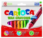 Carioca zsírkréta 12 darabos vastag