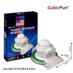 3D Puzzle - Jefferson Memorial (USA) c108
