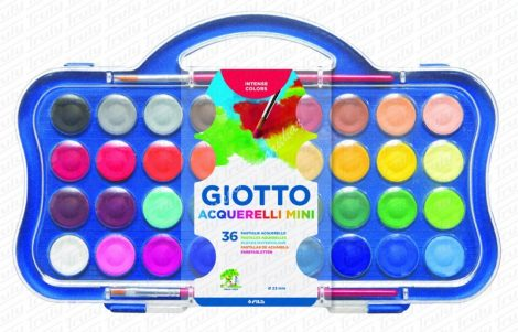 Giotto Acquerelli Mini vízfesték 36-os