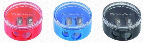Faber-Castell kerek kétlyukú hegyező