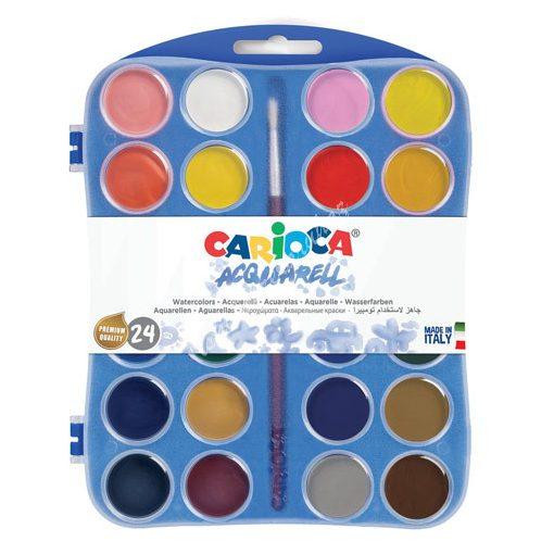 Carioca vízfesték 24 darabos 42401