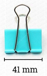 Deli binder kapocs színes 41 mm