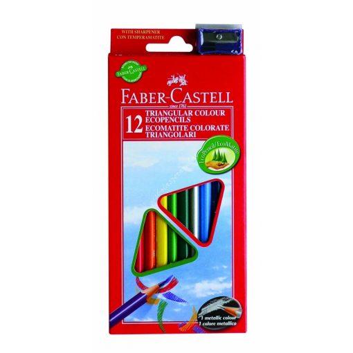 Faber-Castell színes ceruza készlet 12 ECO
