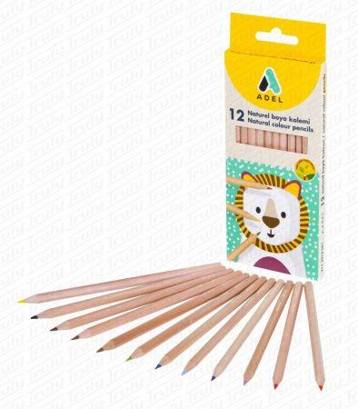 Adel színes ceruza natúr 12-es 2319