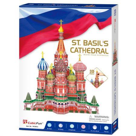 3D Puzzle - Vasile Cathedral (Oroszország) mc093