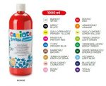 Carioca tempera 1000 ml. 18 színben