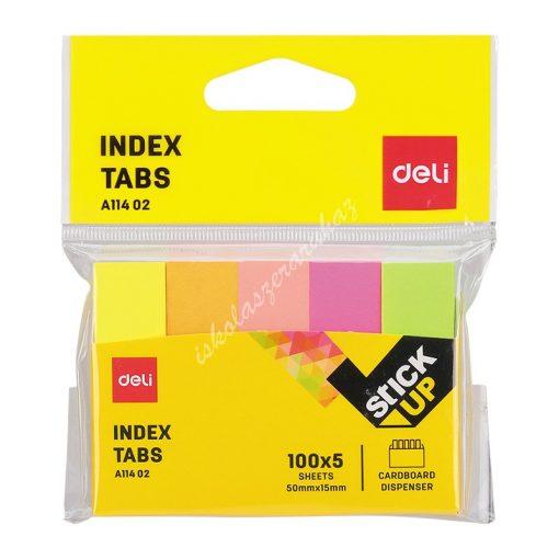 Deli jelölő címke 100x5 A11402