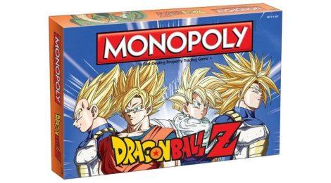 Dragon Ball Z - Monopoly (angol nyelvű, limitált kiadás)
