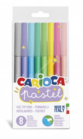 Carioca filc 8 darabos pasztel