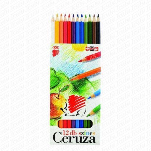 Süni Ico hatszögletű színes ceruza 12-es