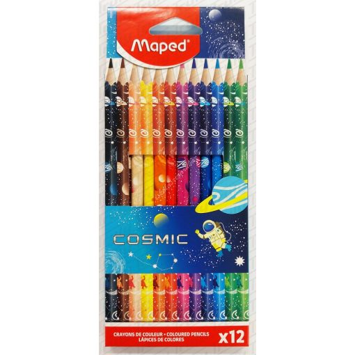 Maped színes ceruza 12 darabos Cosmic