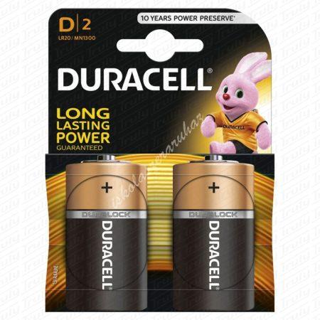 Duracell LR20 Góliát elem