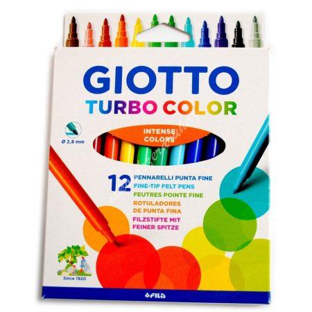 Filc 12 darabos Giotto Turbo Color