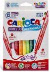 Carioca Birello kétvégű 12-es filctoll készlet