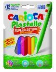 Carioca zsírkréta 12 darabos Plastello