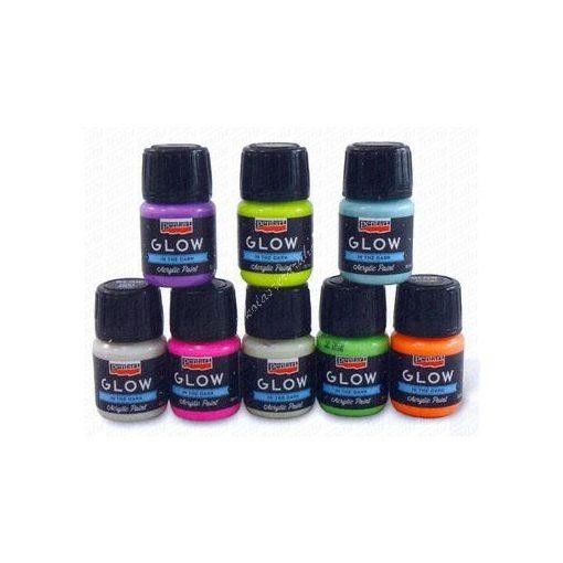 Pentart Glow világító akril festék 30 ml
