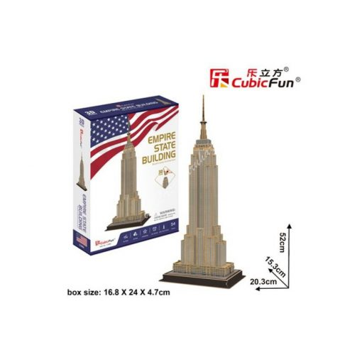 3D Puzzle - Empire State Building (USA) c246