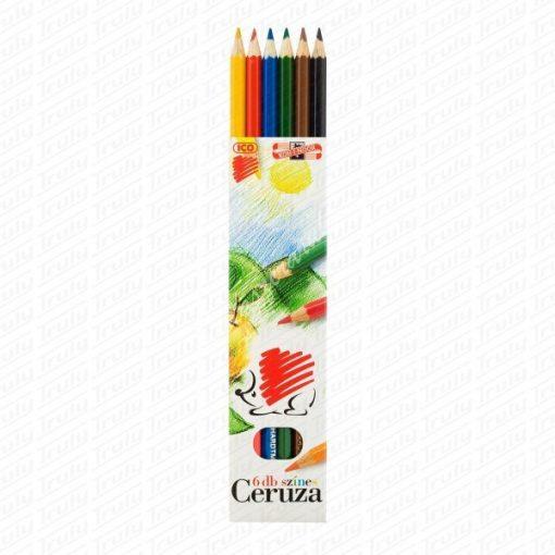 Süni Ico színes ceruza 6-os
