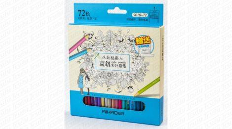 Aihao színes ceruza 72 darabos készlet
