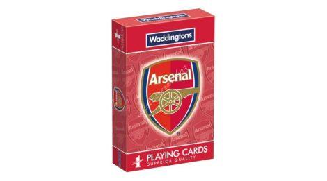Arsenal focicsapat francia kártya - Waddingtons