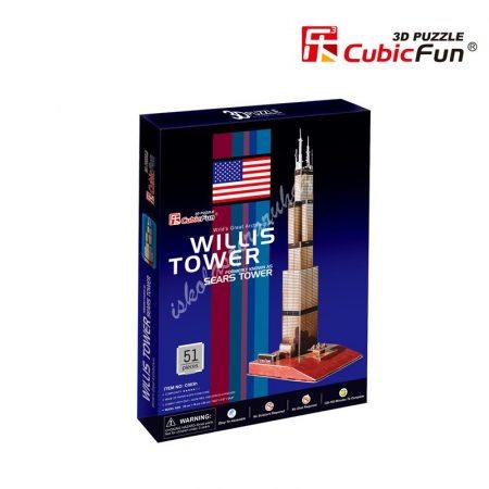3D Puzzle -  Willis Towers c083