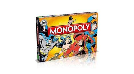DC Comics - Monopoly (angol nyelvű, limitált kiadás)